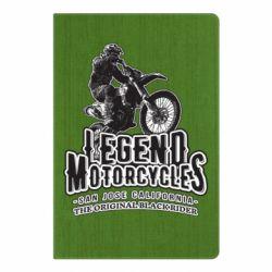 Блокнот А5 Legends motorcycle