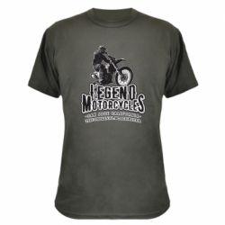 Камуфляжна футболка Legends motorcycle