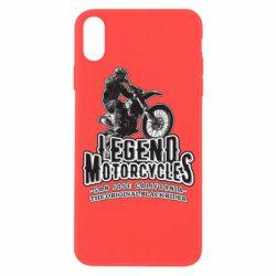 Чохол для iPhone X/Xs Legends motorcycle