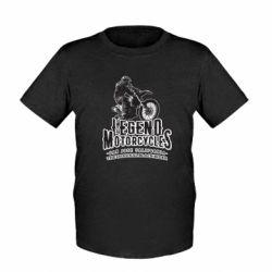 Дитяча футболка Legends motorcycle