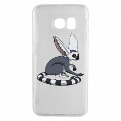 Чехол для Samsung S6 EDGE Лемур