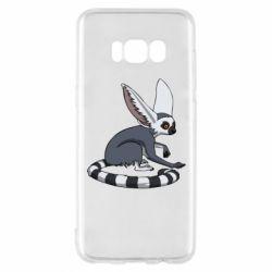 Чехол для Samsung S8 Лемур