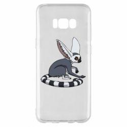 Чехол для Samsung S8+ Лемур