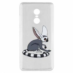 Купить Животные, Чехол для Xiaomi Redmi Note 4x Лемур, FatLine