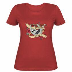 Жіноча футболка Lenivets with a laptop