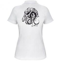 Женская футболка поло Leo (Лев)