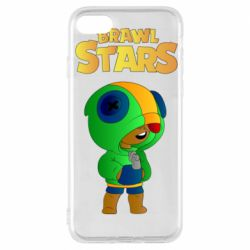 Чехол для iPhone 7 Leon brawl stars