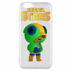 Чехол для iPhone 6/6S Leon brawl stars