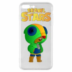 Чехол для iPhone 8 Plus Leon brawl stars