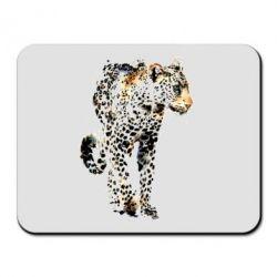 Коврик для мыши Леопард Акварель