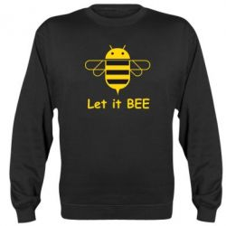 Реглан (свитшот) Let it BEE Android - FatLine