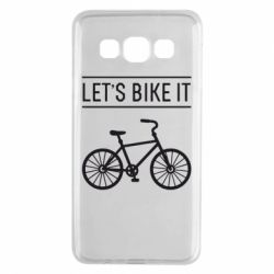 Чехол для Samsung A3 2015 Let's Bike It - FatLine