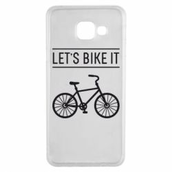 Чехол для Samsung A3 2016 Let's Bike It - FatLine
