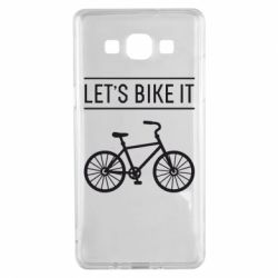 Чехол для Samsung A5 2015 Let's Bike It - FatLine