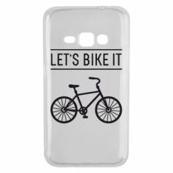 Чехол для Samsung J1 2016 Let's Bike It - FatLine