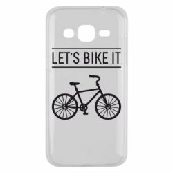 Чехол для Samsung J2 2015 Let's Bike It - FatLine