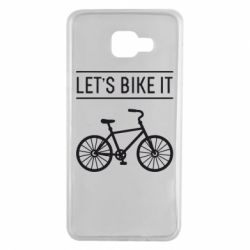 Чехол для Samsung A7 2016 Let's Bike It - FatLine
