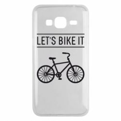 Чехол для Samsung J3 2016 Let's Bike It - FatLine