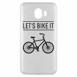 Чехол для Samsung J4 Let's Bike It - FatLine