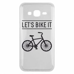 Чехол для Samsung J5 2015 Let's Bike It - FatLine
