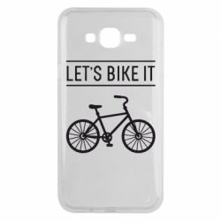 Чехол для Samsung J7 2015 Let's Bike It - FatLine