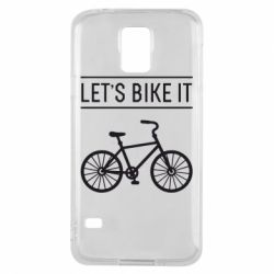 Чехол для Samsung S5 Let's Bike It - FatLine