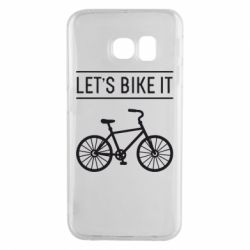 Чехол для Samsung S6 EDGE Let's Bike It - FatLine