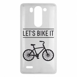 Чехол для LG G3 mini/G3s Let's Bike It - FatLine