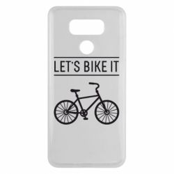 Чехол для LG G6 Let's Bike It - FatLine