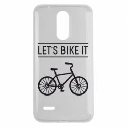 Чехол для LG K7 2017 Let's Bike It - FatLine