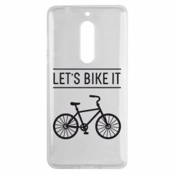 Чехол для Nokia 5 Let's Bike It - FatLine