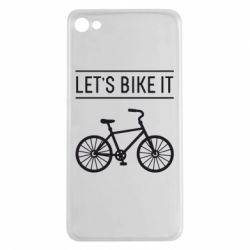 Чехол для Meizu U20 Let's Bike It - FatLine