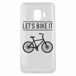 Чехол для Samsung J2 Core Let's Bike It - FatLine