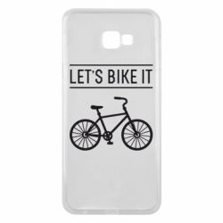 Чехол для Samsung J4 Plus 2018 Let's Bike It - FatLine