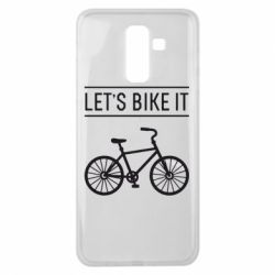 Чехол для Samsung J8 2018 Let's Bike It - FatLine