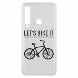 Чехол для Samsung A9 2018 Let's Bike It - FatLine
