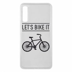 Чехол для Samsung A7 2018 Let's Bike It - FatLine