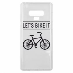 Чехол для Samsung Note 9 Let's Bike It - FatLine