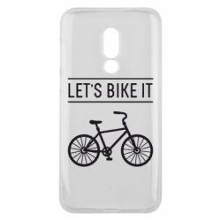 Чехол для Meizu 16 Let's Bike It - FatLine