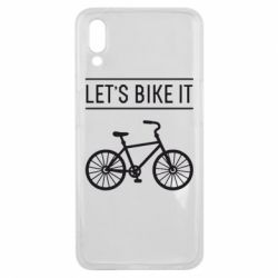 Чехол для Meizu E3 Let's Bike It - FatLine