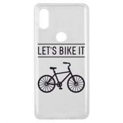 Чехол для Xiaomi Mi Mix 3 Let's Bike It - FatLine
