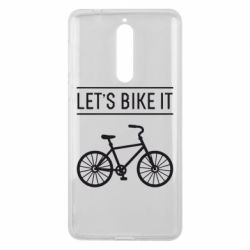 Чехол для Nokia 8 Let's Bike It - FatLine