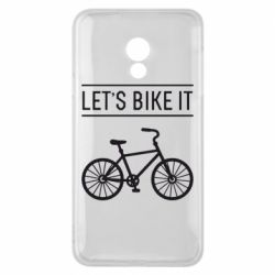 Чехол для Meizu 15 Lite Let's Bike It - FatLine