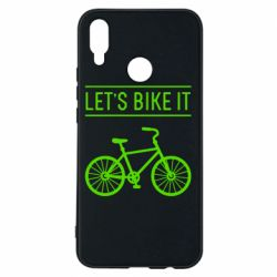 Чехол для Huawei P Smart Plus Let's Bike It - FatLine