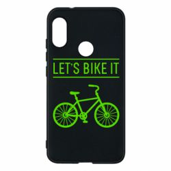 Чехол для Mi A2 Lite Let's Bike It - FatLine