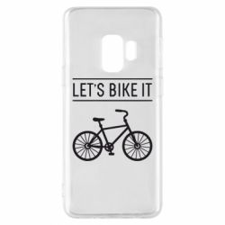 Чехол для Samsung S9 Let's Bike It - FatLine
