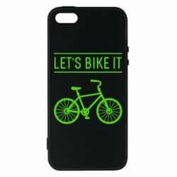 Чехол для iPhone5/5S/SE Let's Bike It - FatLine