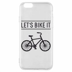 Чехол для iPhone 6/6S Let's Bike It - FatLine