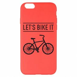 Чехол для iPhone 6 Plus/6S Plus Let's Bike It - FatLine