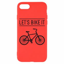 Чехол для iPhone 7 Let's Bike It - FatLine